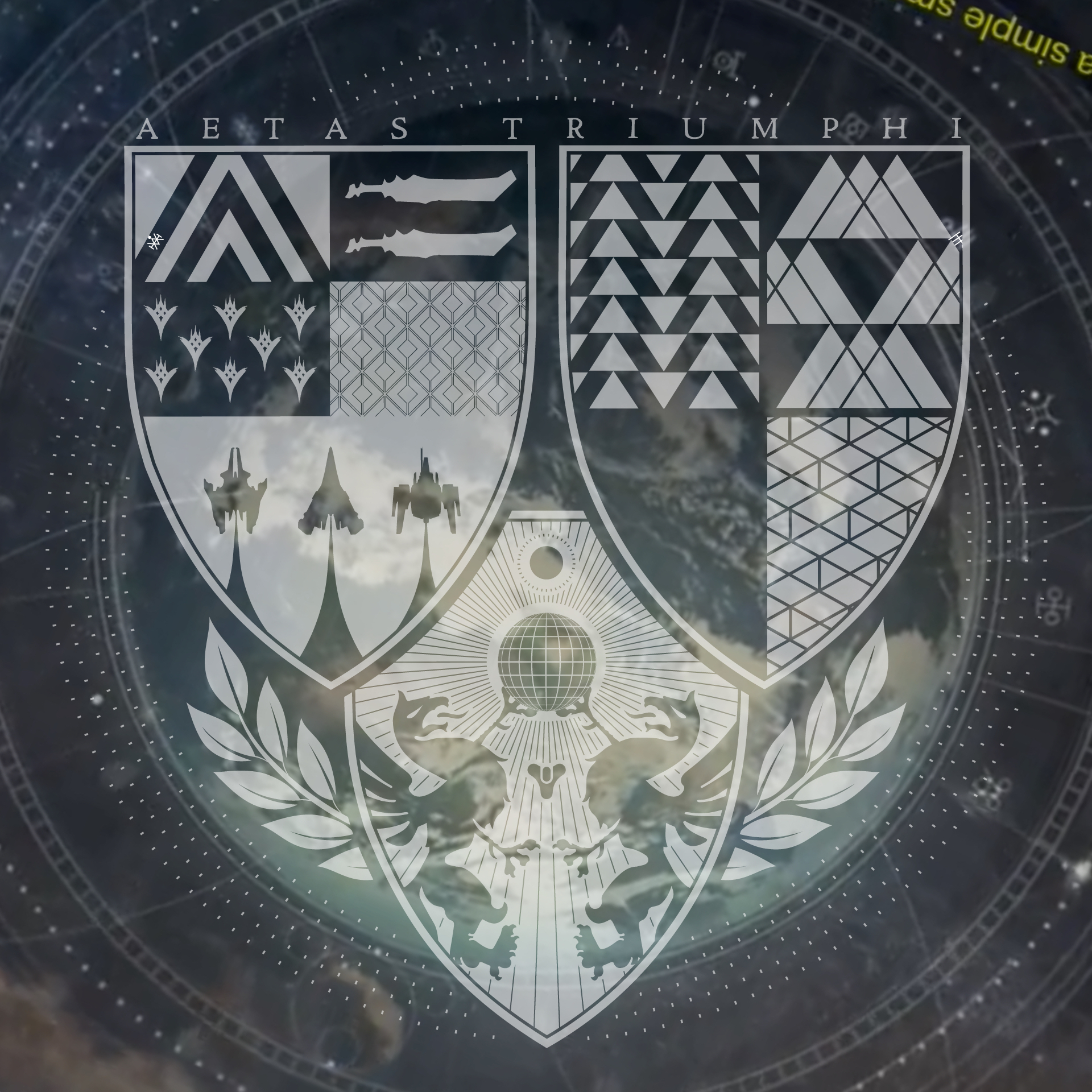 Strange Symbols In Age Of Triumph Logo Lore Commons